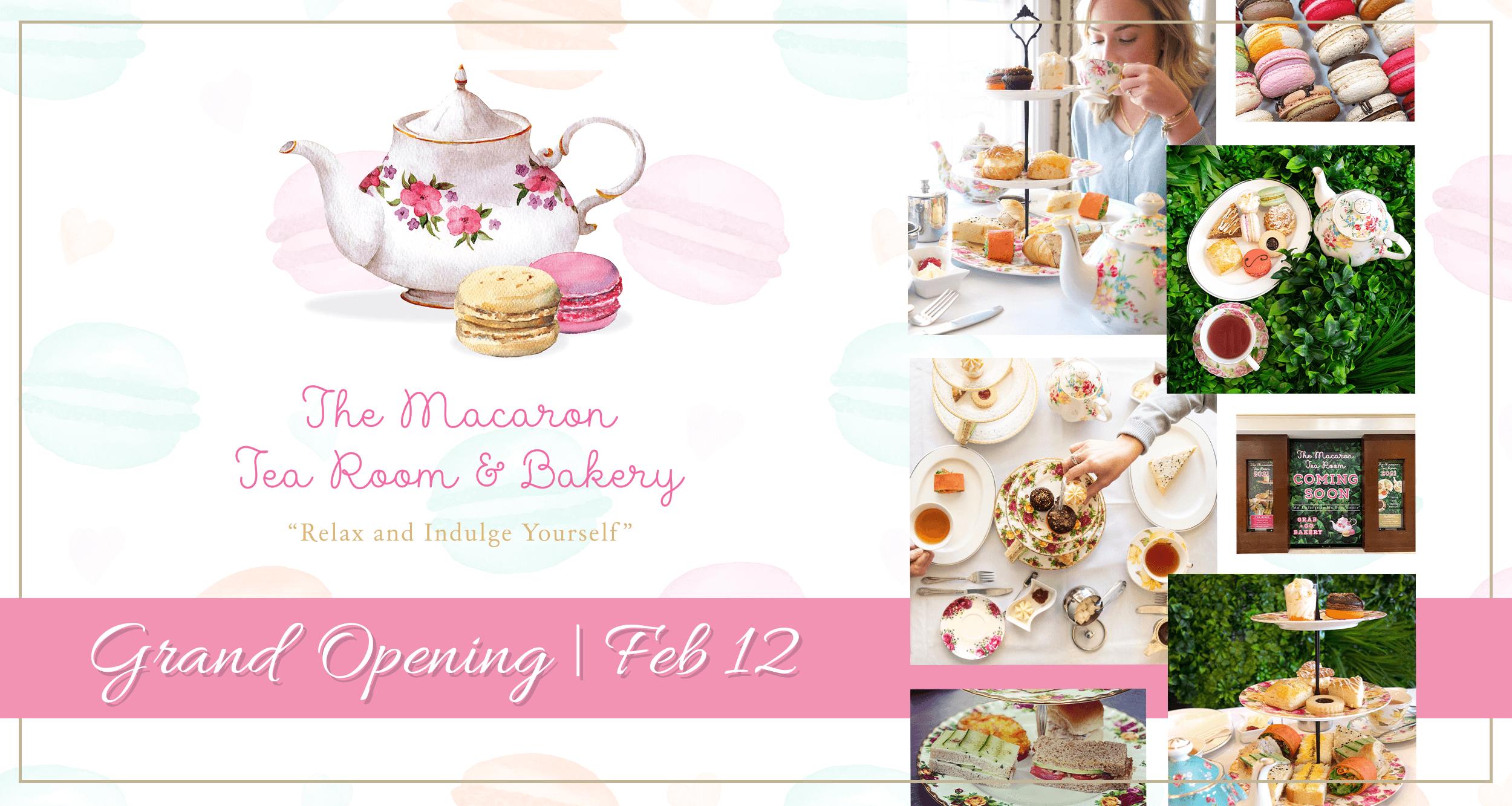 The Macaron Tea Room Grand Opening