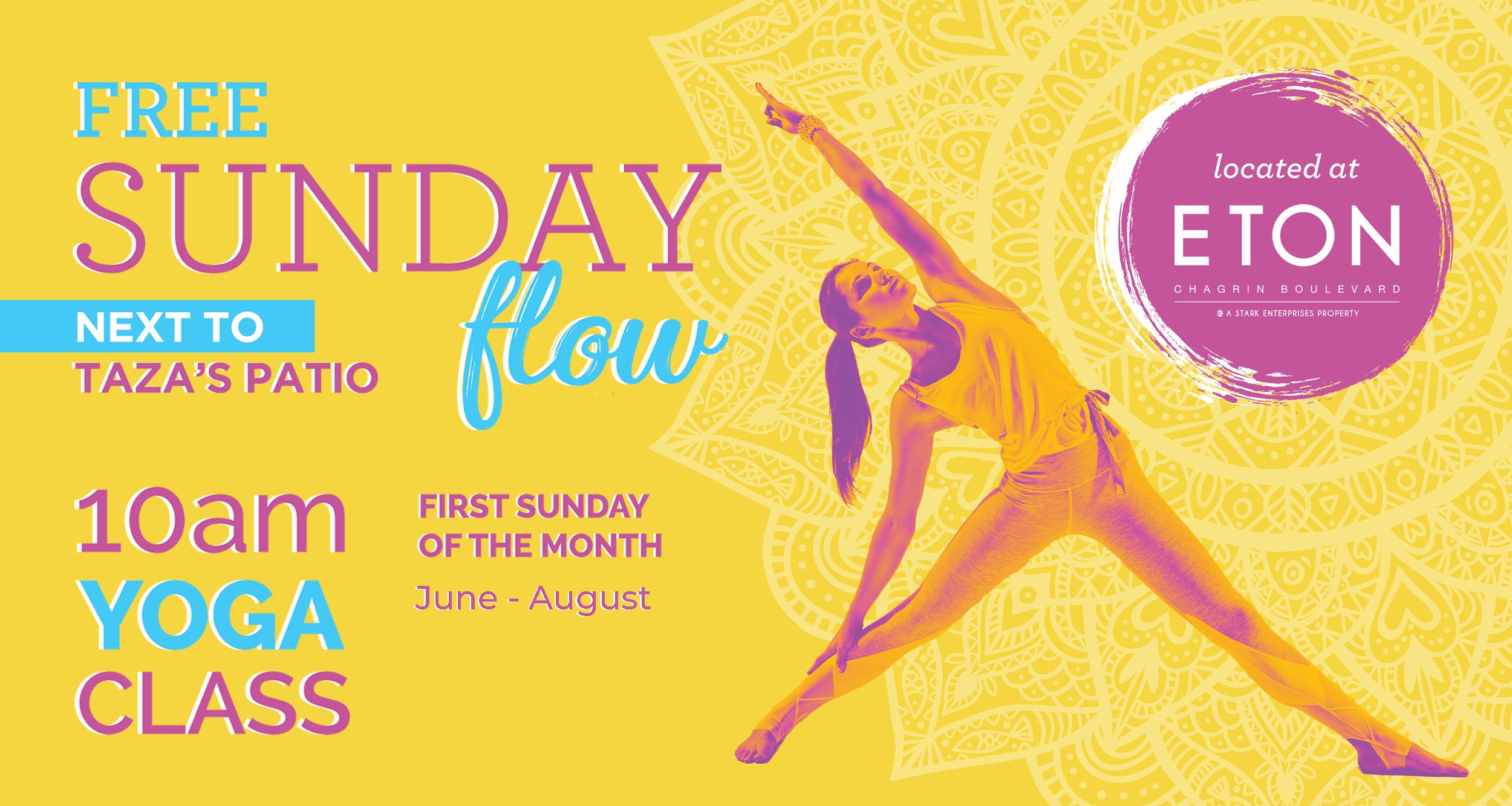 Sunday Flow Yoga