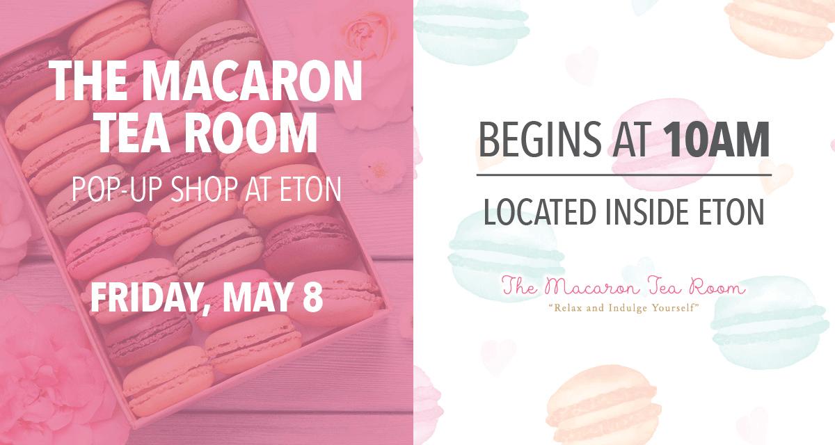 The Macaron Tea Room Pop-Up