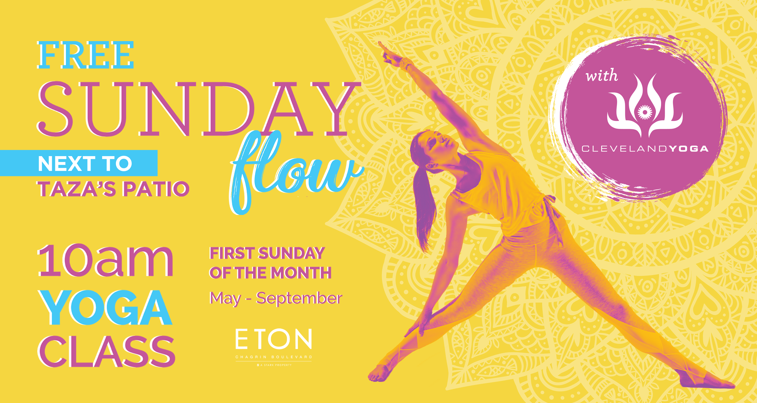 Sunday Flow with Cleveland Yoga