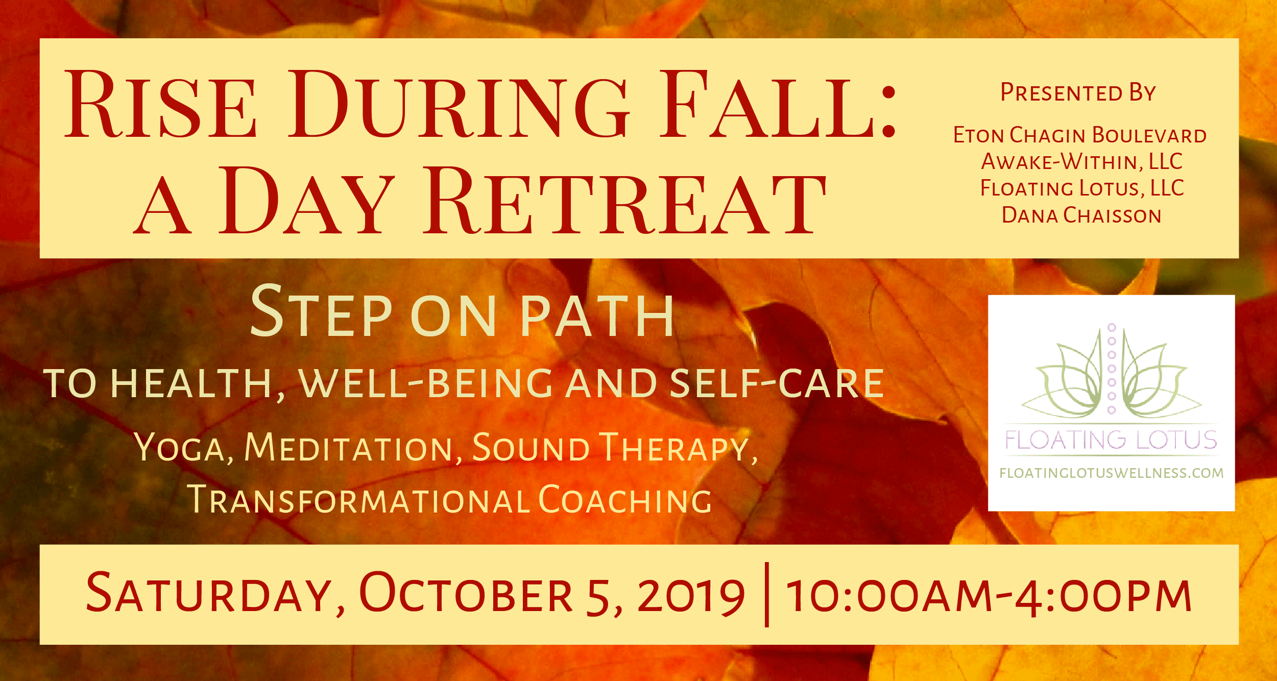 Rise During Fall: A Day Retreat